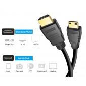 Кабель HDMI - mini HDMI
