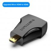 Переходник micro HDMI папа - HDMI мама
