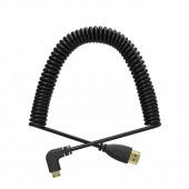 Кабель HDMI - mini HDMI правый угол (50-150см)