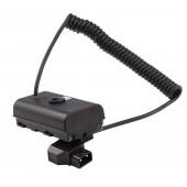 Кабель питания D-tap для NP-F аккумулятора для Sony NP F (витой)