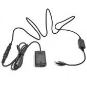 Адаптер питания usb-кабеля для камер Sony A6300