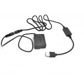 Понижающий кабель 12-24В  BLC 12 для Panasonic G80, G85, G90 муфта  DCC8