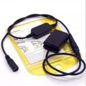 Понижающий кабель 12-24В NP-FW50 для Sony a6000 a6500 A6300 муфта AC-PW20
