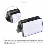 Видео свет VIJIM R316 RGB LED, складной