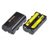 Аккумулятор для Sony NP-F550 повышенной ёмкости 2800mAh (Batmax) для BMPCC 6K PRO