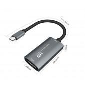 Карта захвата видео - аудио HDMI Full HD к USB Type-C