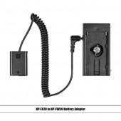 Муфта NP-FW50 и NP-F адаптер батареи для Sony a7S ,a7R